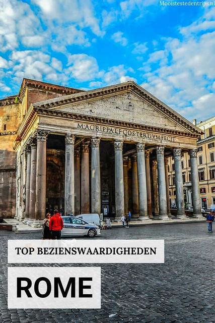 Bekende en onbekende bezienswaardigheden Rome | Mooistestedentrips.nl