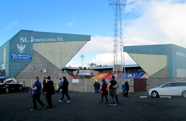Ormond and Main Stands, McDiarmid Park