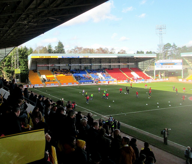 North Stand from Main Stand, McDiarmid Park, Perth