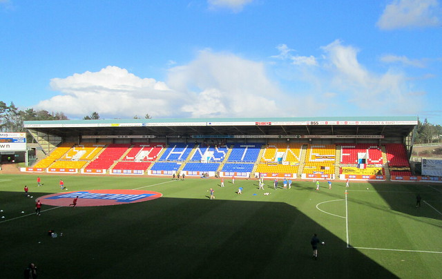 East Stand, McDiarmid Park, Perth