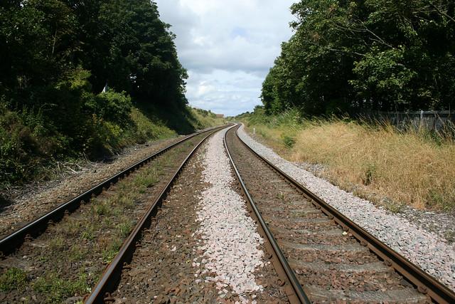 The Durham Coast line at Hawthorn Hive