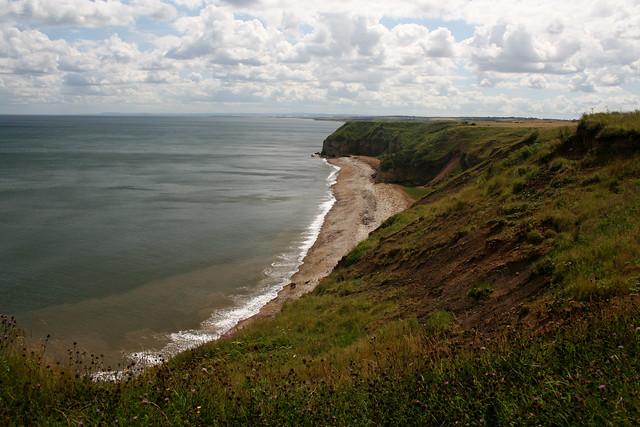 The coast near Easington Colliery