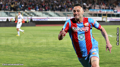 Catania-Potenza 1-1: Di Piazza spazza via la paura, ma quanta sofferenza!$