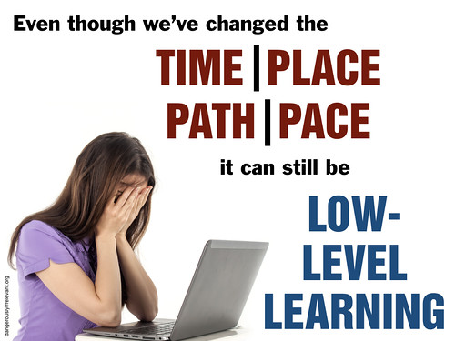 Time, place, path, and pace