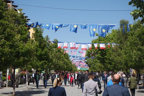 Mother Teresa Boulevard - Pristina, Kosovo