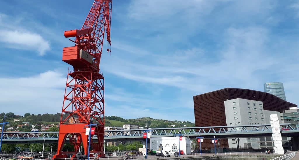 Het havengebied van Bilbao | Mooistestedetrips.nl