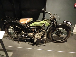 1924 Rudge Multi Motorcycle, Coventry Transport Museum 12 July 2017