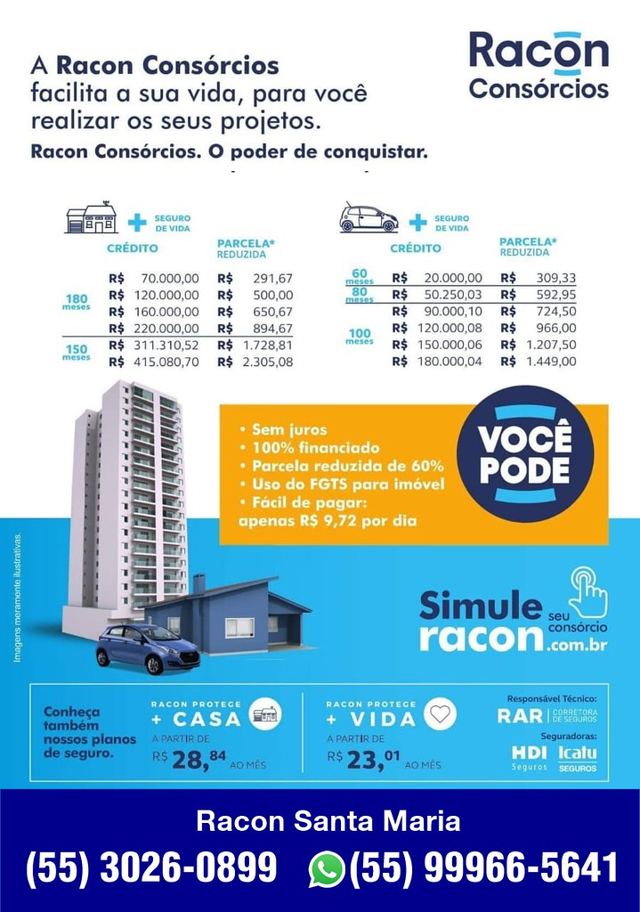 Conheça a Racon Consórcios - Santa Maria