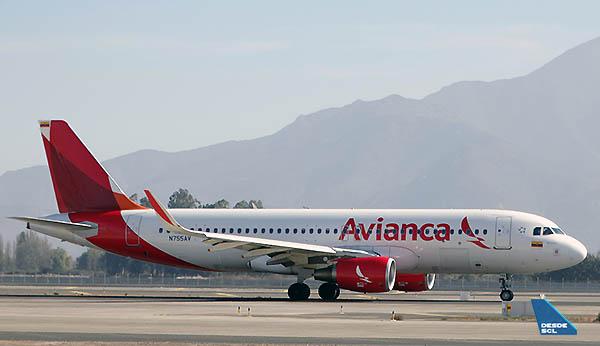 Avianca A320 N755AV (RD)