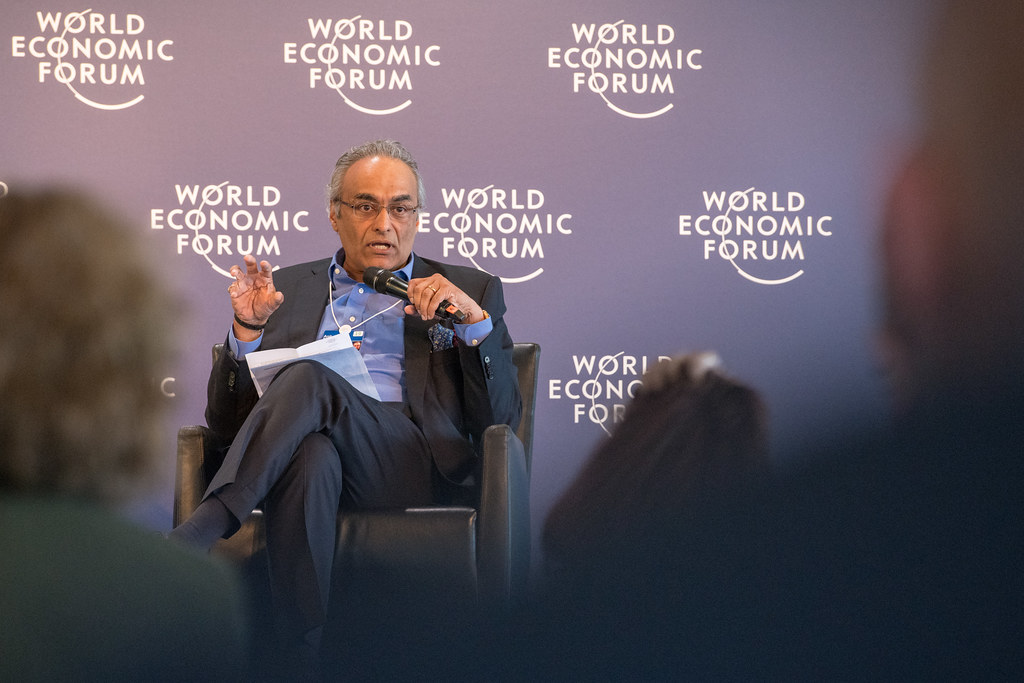 Image result for Anil Menon, Managing Director of the World Economic Forum (WEF)