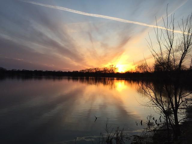 Sunset on Lake Hiawatha