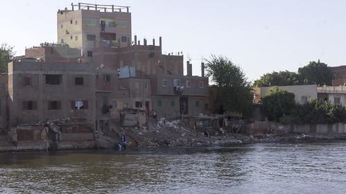 Informal buildings in Al-Quorsaya island , Giza | by Kodak Agfa