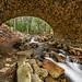 Under the Cobblestone Bridge - Acadia NP by Robert Stone Nature Photography