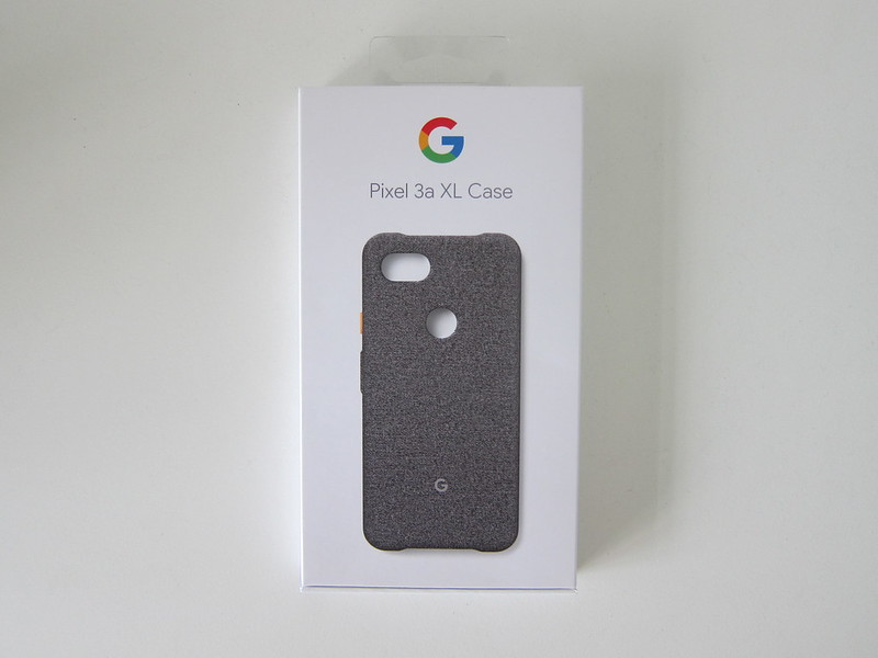 Google Pixel 3a XL Fabric Case - Box Front