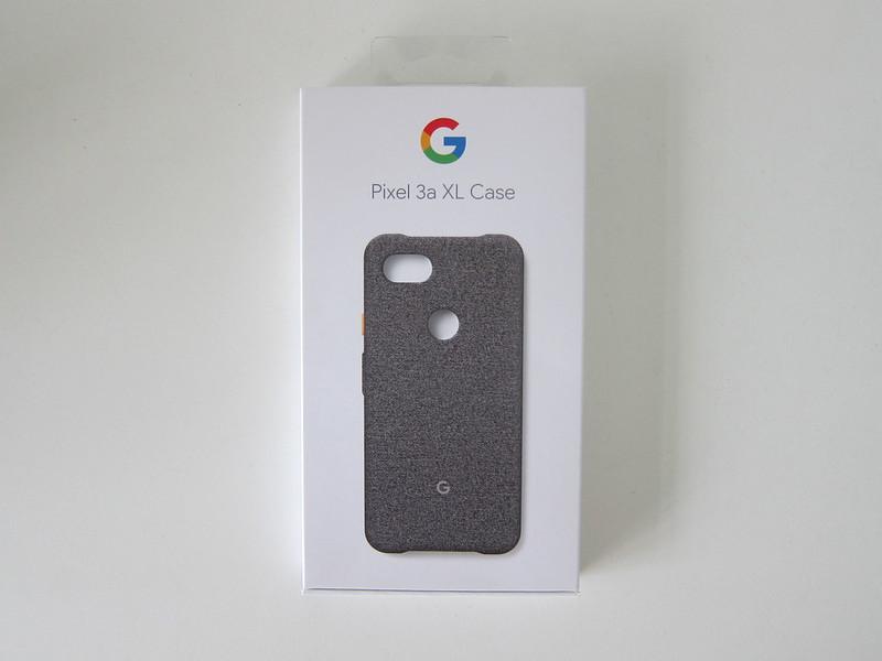 Google Pixel 3a XL Fabric Case - Box Front