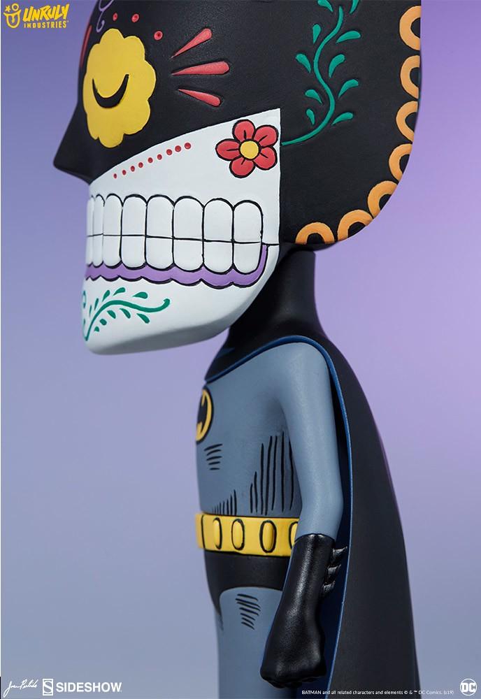 將墨西哥亡靈節的特殊風格注入黑暗騎士之中~ Unruly Industries DC Comics【蝙蝠俠骷髏頭】Batman Calavera