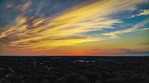 boobs colorfulsky's skyporn color unmannedaerialvehicle dji mavic mavicair uav drone tampabay tampa unitedstatesofamerica florida valrico sunset