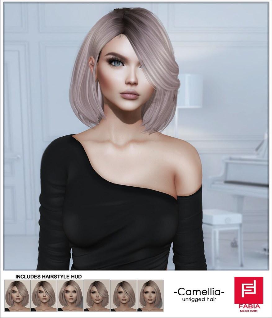 -FABIA- Hair  Camellia