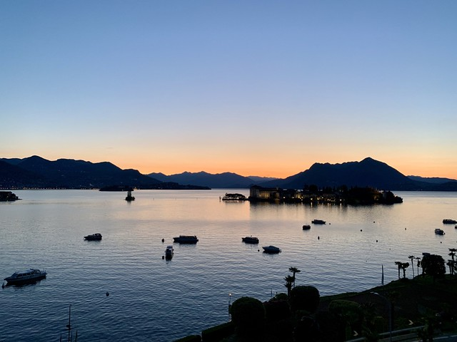 Dawn on Lake Maggiore