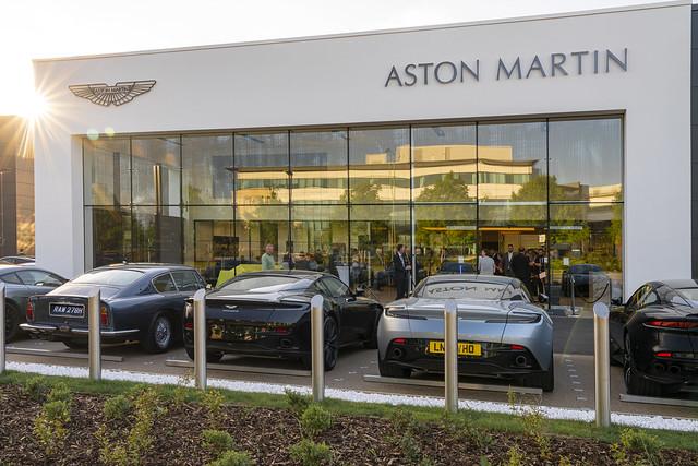 Grange Aston Martin Hatfield Opening Event