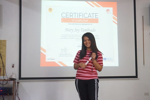 Feedback training workshop for street educators Day 4