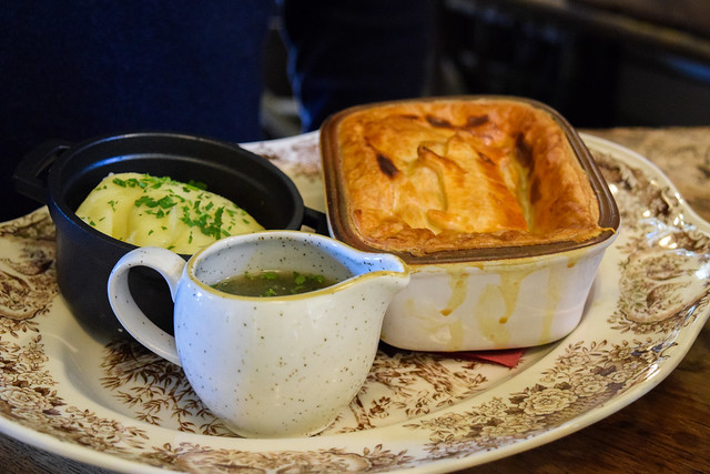 The Wife of Bath Pie at The Pig Hotel, Bridge