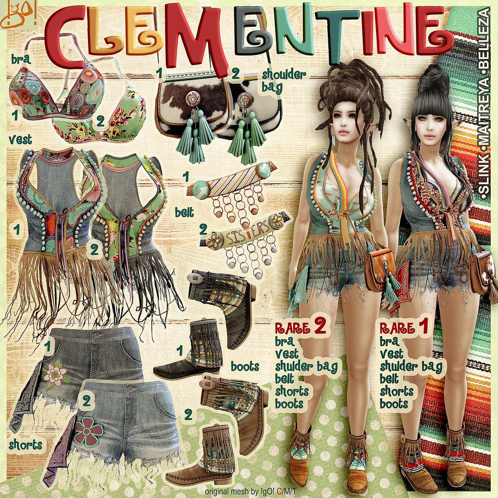 !gO! Clementine – Gacha Key