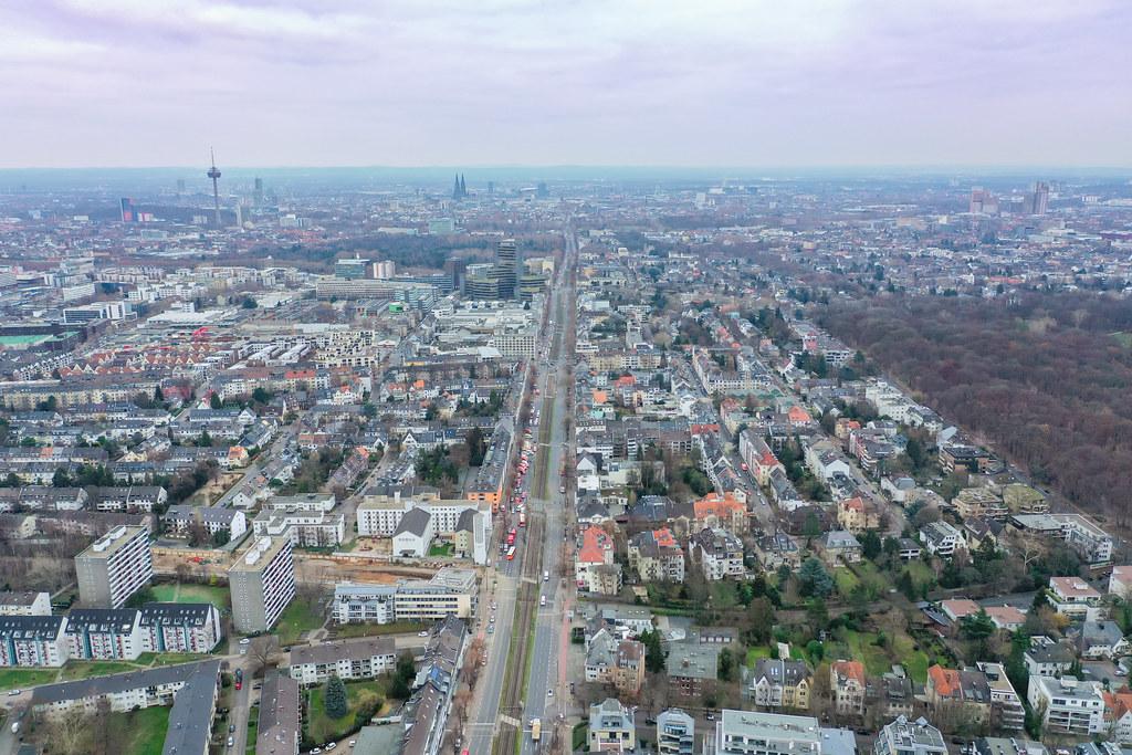 Köln Straßensperrung