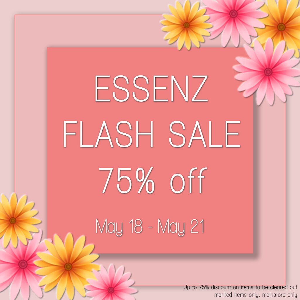 Essenz – Flash / Clearance Sale