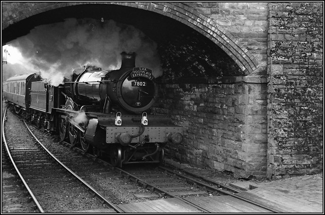 Manor Class loco at Arley