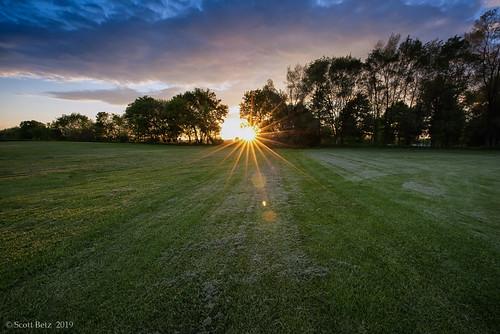 chambersburg pennsylvania sunset field nikon d810 1424mm nisi haida nik hyperfocaldistance