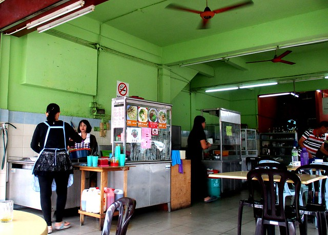 Ching Cai Cafe kolo mee stall