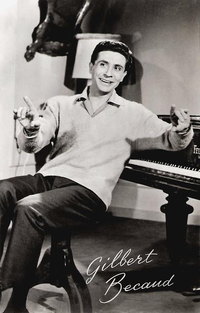 Gilbert Bécaud in Casino de Paris (1957)