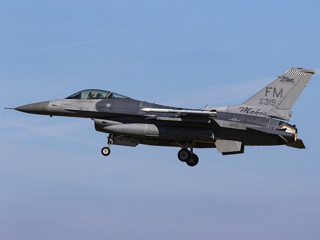 United States Air Force | General Dynamics F-16C Fighting Falcon | 86-0319