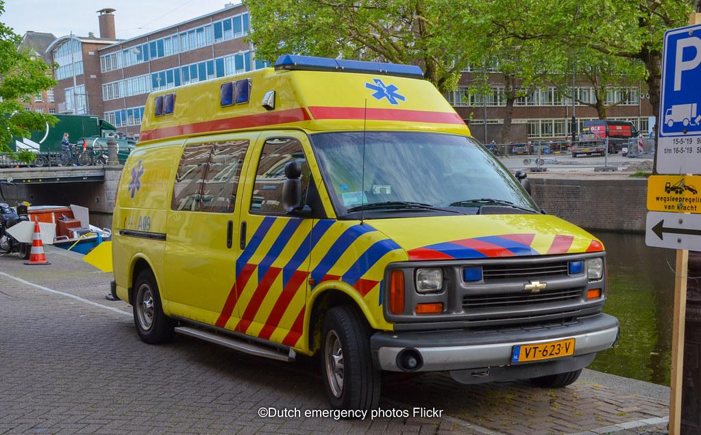 Dutch Ambulance Chevy Van Brand Chevrolet Model Chevy Va Flickr