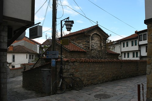Ohrid, Sveti Bogorodica Bolnička (14. Jhdt.) / Охрид, Света Богородица Болничка   by liakada-web