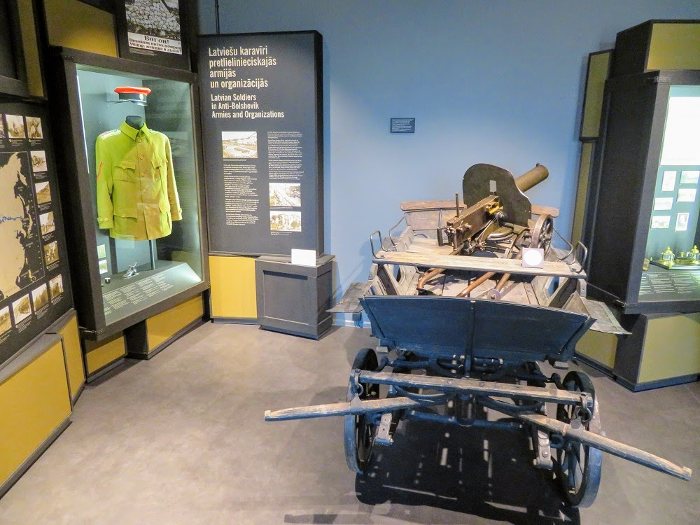 Золотая осень в Латвии. Военный музей. От Первой мировой к независимости Латвии. Часть 1