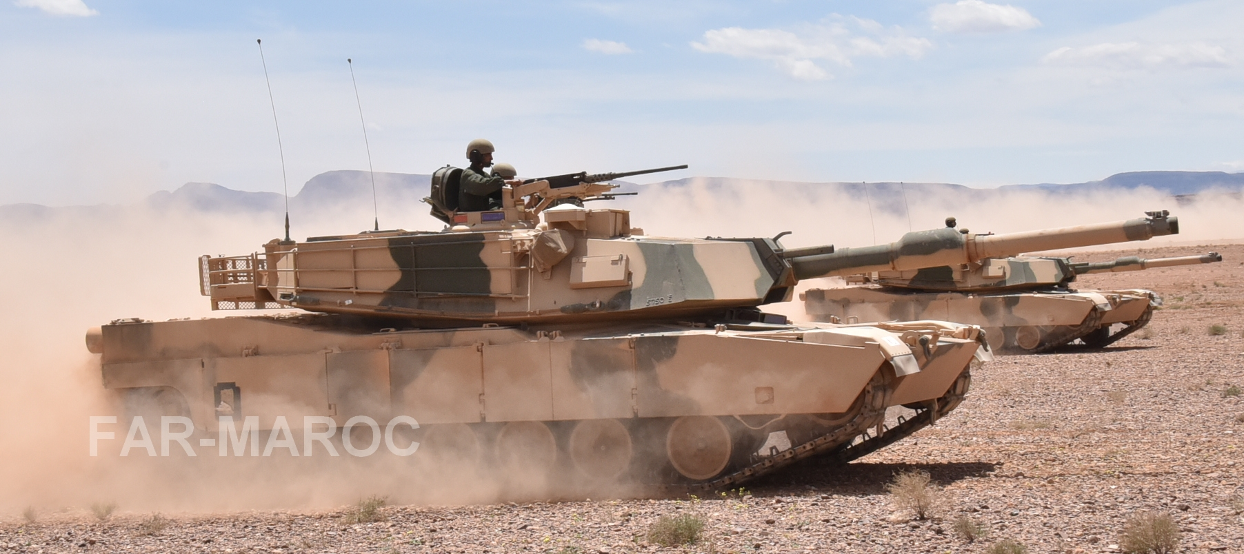 M1A1 SA ABRAMS Marocains / Moroccan M1A1 SA ABRAMS 47875649901_d595d93ffe_o
