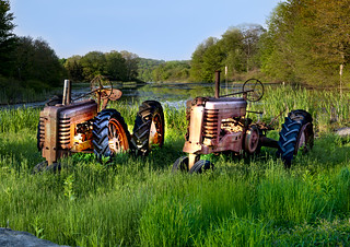 Retired Farm Equipment