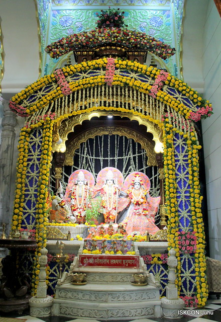 Phool Bangala Darshan on Narasimha Chaturdashi 18th May 2019 ISKCON Juhu