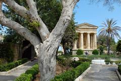 Lower Barrakka Gardens, Valletta.