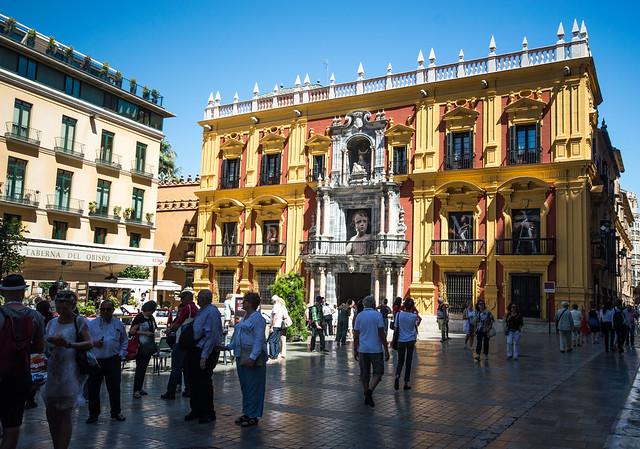Plaza del Obispo Palacio Episcopal