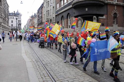 Prideparaden – Drottninggatan