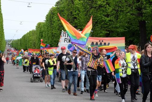 Prideparaden – Norra Promenaden