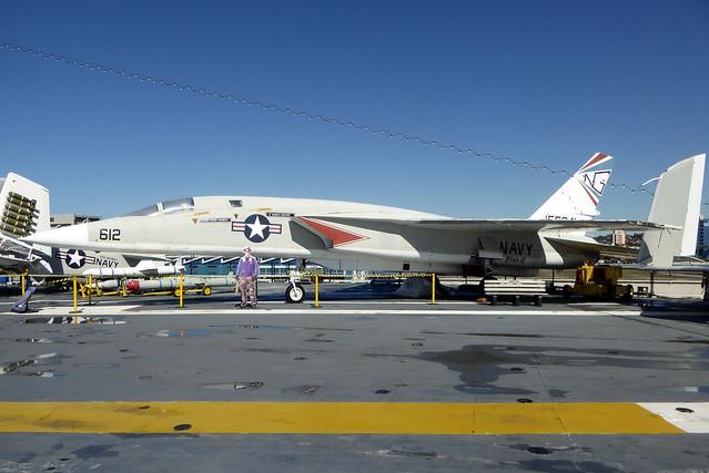 156641 / NG-612 North American RA-5C Vigilante cn 316-34 US Navy. USS Midway - San Diego 22Feb19