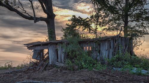 Broken Down Shed at Sunrise | by Vincent1825