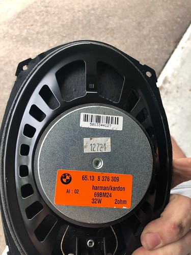 BMW E46 touring rear speakers | by terzinator