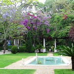 Garden of the Prime Minister's official residence - Lisbon - Portugal