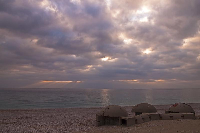military bunkers, Albania