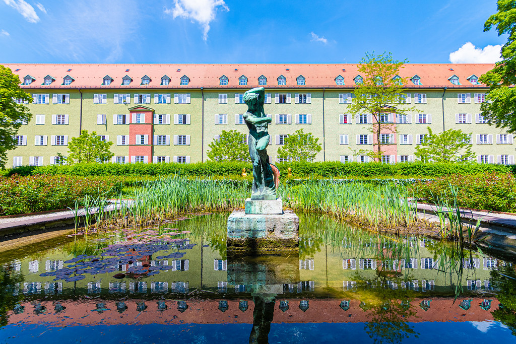 borstei in m nchen housing complex in munich built 1924 flickr